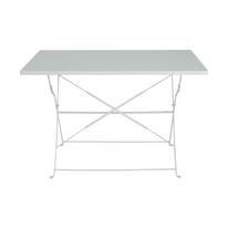 Tavolo pieghevole Color, 110 x 70 cm bianco