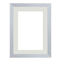 Cornice Lario con passe-partout rovere 21 x 29,7 cm