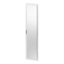 Anta a specchio Spaceo bianco L 45 x P 2 x H 192 cm