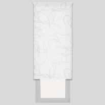 Tenda a rullo Zig zag bianco 60 x 190 cm