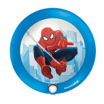 Applique Spiderman blu L 9,5 x H 9,5 cm