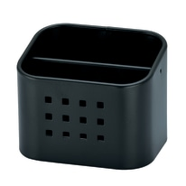 Porta posate nero L 10,5 x P 8,4 x H 8,5 cm