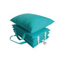 Cuscino azzurro 180 x 50 cm
