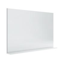 Specchio Opale bianco lucido 120 x 76 cm
