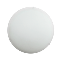 Plafoniera Cerchio bianco Ø 40 cm