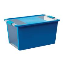 Scatola Bi Box L L 55 x P 35 x H 28 cm azzurro