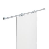 Binario scorrevole Tango 186 cm grigio in acciaio galvanizzato, per anta di larghezza massima 93 cm