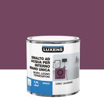Smalto manounica Luxens all'acqua Rosa Candy 2 opaco 0.5 L