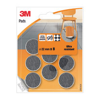 8 feltrini adesivi Ø 22 mm