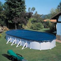 Copertura invernale per piscina 500 x 300 cm