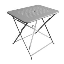 Set Dolly tavolo + 2 sedie grigio antracite