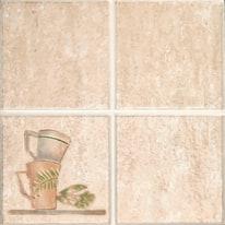 Composizione decorativa Arena beige 20 x 20 cm