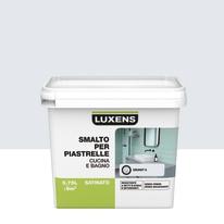Smalto Per piastrelle Luxens Bianco Granit 6 satinato 0,75 L