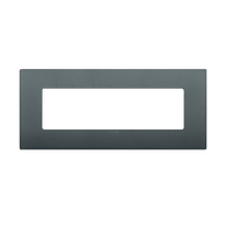 Placca 7 moduli Vimar Arké grigio