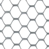Rete Exagon H 1 x L 5 m argento