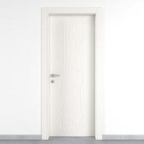 Porta da interno battente Wood bianco 60 x H 210 cm dx