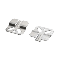 Ganci di fissaggio per perline mdf metallo grigio