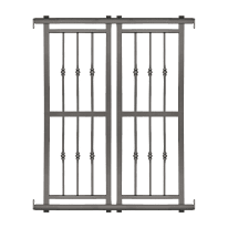 Grata blindata Basic grigio scuro L 120 x H 155 cm