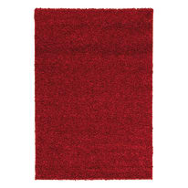 Tappeto Curly tender rosso 120 x 170 cm