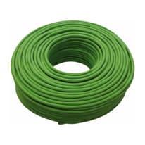 Cavo TVCC Videosorveglianza HD microsolid 0,5 mm verde, matassa 100 m