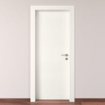 Porta da interno battente Fence bianco 70 x H 210 cm sx