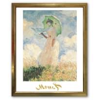 Stampa incorniciata Woman with Parasol 45 x 55 cm