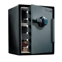 Cassaforte portavalori Master Lock LFW205FYC resistente a fuoco e acqua nero