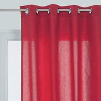 Tenda Sunny rosso 140 x 280 cm