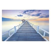 quadro su tela Wharf 90x135