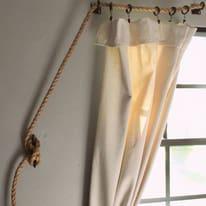 Bastone per tenda estensibile in kit naturale Ø 2 cm L 400 -  cm