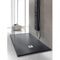 Piatto doccia poliuretano Soft 140 x 90 cm antracite