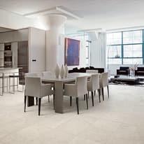 Piastrella Pietra Capri 100 x 100 cm bianco