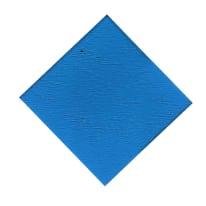Lastra vetro sintetico blu 1000 x 500  mm, spessore 4 mm