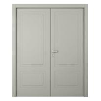 Porta da interno battente Nakano 2 Ante RAL 7044 160 x H 210 cm sx