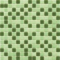 Mosaico Classic mix 32,7 x 32,7 cm verde