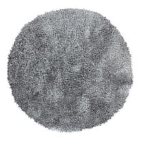 Tappeto Softy grigio ø 150 cm