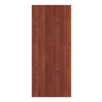 Pannello per porta blindata MDF laminato noce L 90 x H 210 cm , spessore 6 mm