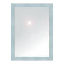 specchio da parete rettangolare New York alluminio 60 x 80 cm