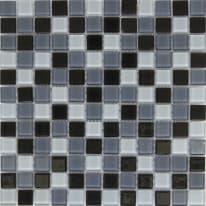 Mosaico Shaker 30 x 30 cm blu, antracite