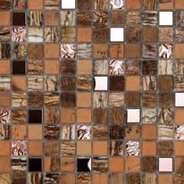 Mosaico Kawii Persia 30 x 30 cm marrone, beige
