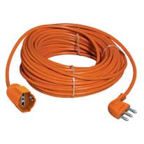 Prolunga IEC 16A arancione 15 m