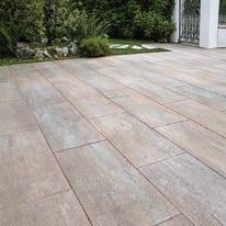 Lastra 40 x 80 cm Sasslong  antimacchia sandstone, bancale da 7.68 mq, spessore 4,8 cm