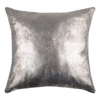 Cuscino Broceliande grigio cucitura grigio 40 x 40 cm