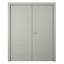 Porta da interno battente Nakano 2 Ante RAL 7044 140 x H 210 cm sx