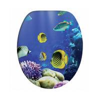 Copriwater Sea Life decoro fantasia