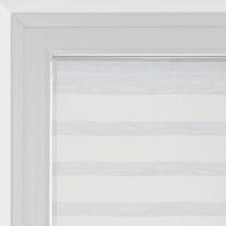 Tendina a vetro per finestra Utopia bianco 45 x 90 cm