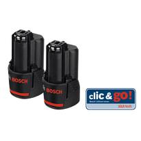 2 batterie Bosch Professional Twin Pack 12V 12 V