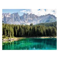 quadro su tela Laghetto verde 30x40