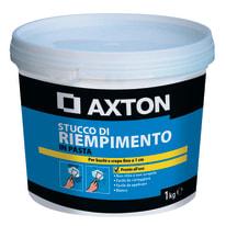 Stucco in pasta Axton Riempitivo liscio bianco 1 kg