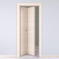 Porta da interno pieghevole Lucad Graf Matrix 80 x H 210 cm sx